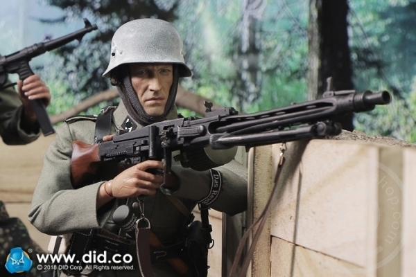 DID Parka WWII GERMAN PANZER DIV MG42 GUNNER DUSTIN 1//6 ACTION FIGURE TOYS