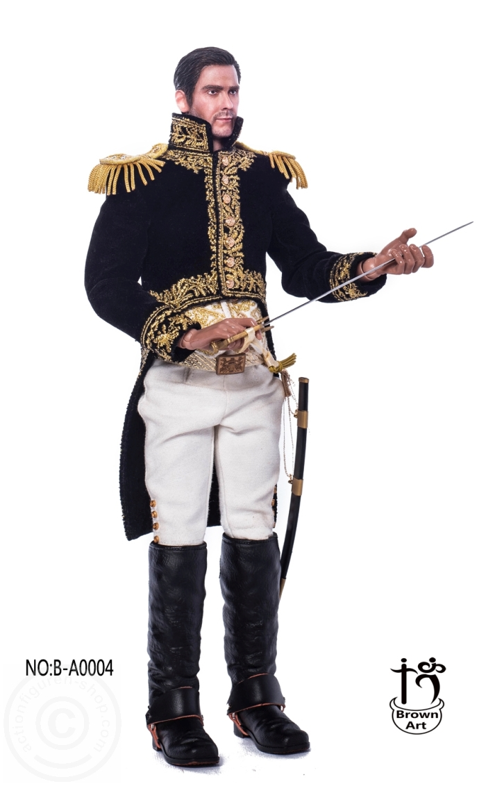 "Brown Art B-A0004 1//6 Scale Marshal of the French Empire 12/"" Figure Body Model"
