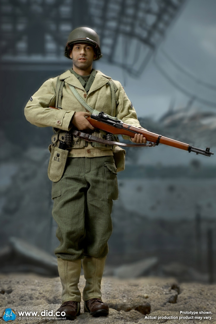 DID M1928 Haversack WWII US 2ND RANGER PRIVATE CAPARZO 1//6 ACTION FIGURE TOYS