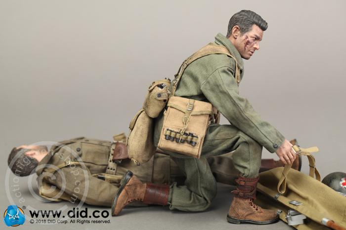 DID Action Figures 1//6 Scale Dixon Combat Medic Uniform Set