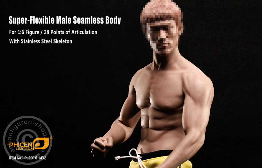 www.actionfiguren-shop.com | Super Flexibel Male Seamless Body ...