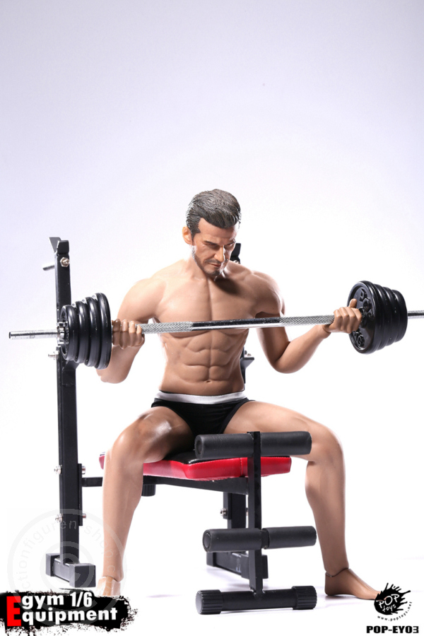 POPTOYS 1//6 EY01 Gym Equipment Dumbbell Sets 12/'/' Figure Scene Series Accessory
