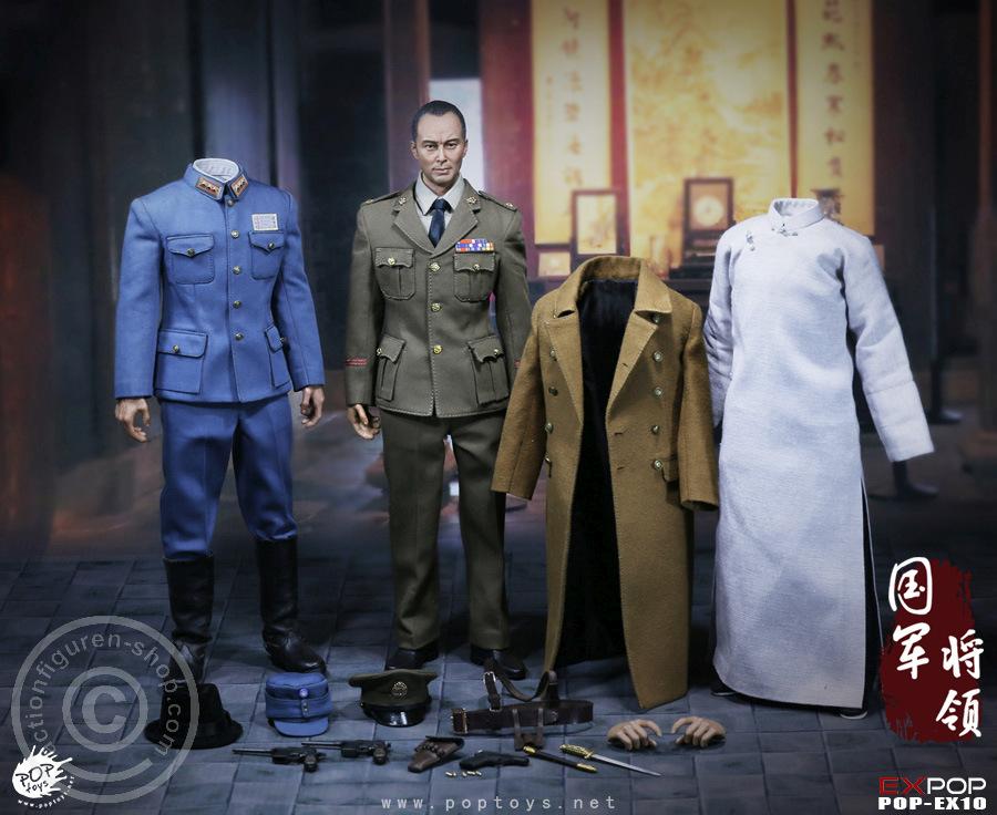 POPTOYS 1//6 Scale EX10 Sword Heroes Of Nationalist General Hands set
