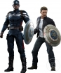 Captain America - Winter Soldier - Capt. America + Steve Rogers