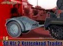 Anhänger für Kettenkrad Sd.Kfz.2 - Grau