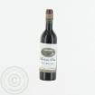 Wein Flasche mit weißem Etikett - 1:6