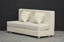 Sofa - white - for 1:6 Figures