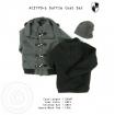 Dufflecoat Set - short/grey