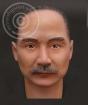 Figurenkopf Sun Yat-Sen mit Body