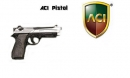Beretta 90 Two Pistole - (silver/black)