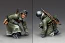 Crouching Tank Rider w/Rifle