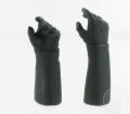 Biker-Handschuh Hände - schwarz