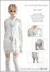 Female White Lace Dress Set