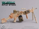 MK46MOD1-rifle stock - camouflage