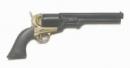 Navy Colt Revolver - black brown grip