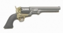 Navy Colt Revolver - gunmetal brown grip