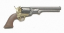 Navy Colt Revolver - gunmetal red-brown grip