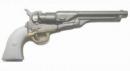 1860 Army Colt, Gunmetal w/White Hand Grip
