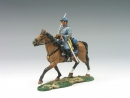 Mounted Confederate Officer