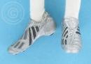 Sport-Sneaker - silber/grau-schwarz