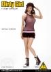 Combat Short Fashion Clothing Set - Brown