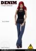 Denim Fashion Clothing Set - Blue