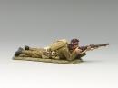 Lying Firing Rifle