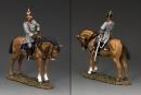 Kaiser Wilhelm II zu Pferd