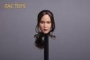 Female Head - brown Hair w/ Pigtail