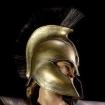 Griechischer Helm - Antike - golden