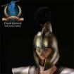 Griechischer Helm - Antike - dunkel
