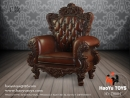 Single Sofa - Brown