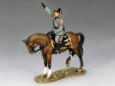 Mounted Mussolini