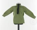 Hemd - grün - mit schwarzer Krawatte