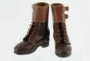 M43 Buckle Top Boots - Real Leather