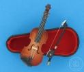 Violine mit Bogen & Kasten