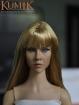 Weiblicher Kopf - blonde Haare