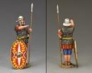 Roman Auxiliary Saluting