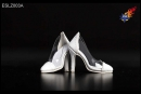 High Heels - white/clear