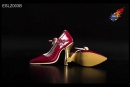 High Heels - red/gold