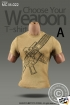 T-Shirt - khaki - Style A