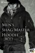 Mens Shag Master Hoodie Set black