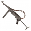 MP40 mit 1 Magazin, Ledertrageriemen