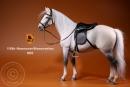 Pferd - weiß/schwarz