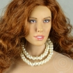 White Pearl Double Loop Necklace
