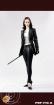 Female Agent Nikita Outfit Set - schwarz