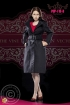 Woman British Trenchcoat Set - schwarz