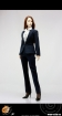 Female Elite Office Lady Suit 2.0 B - blue