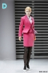 Office Lady Business Suit - pink
