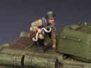 Soldier Holding burp gun